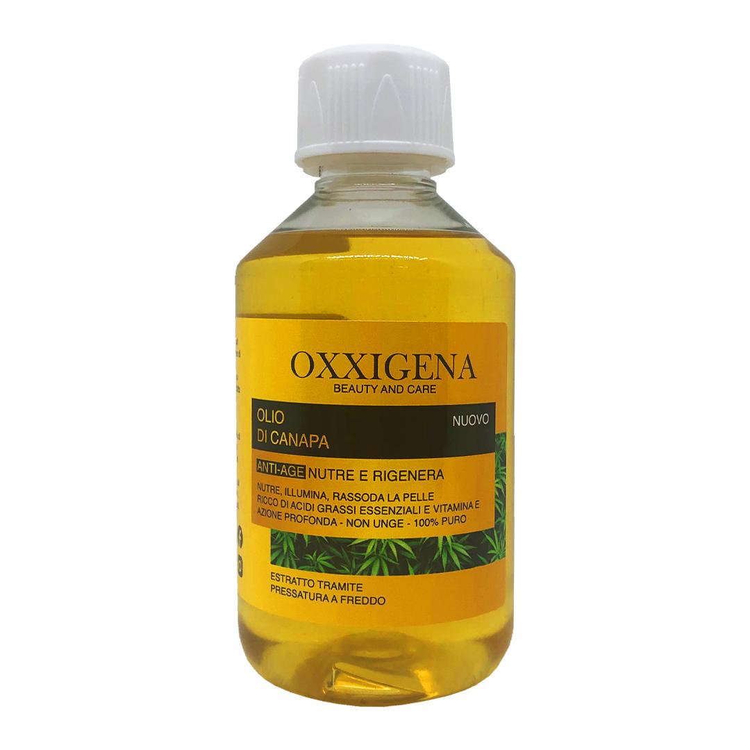 Olio di Canapa 100% Puro – 250 ml – Vegan – Senza OGM
