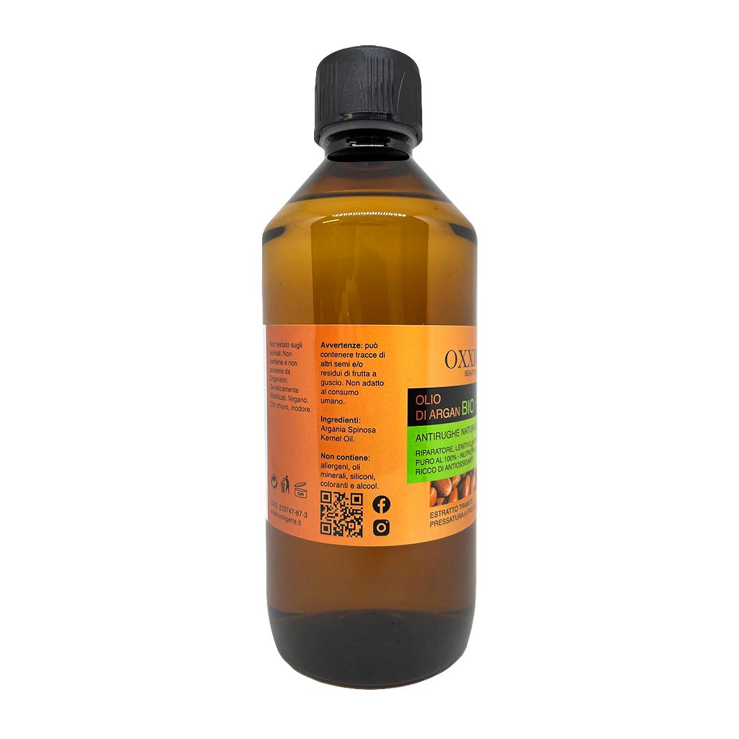 Olio di Argan Bio – 500 ml – Vegan – Senza OGM